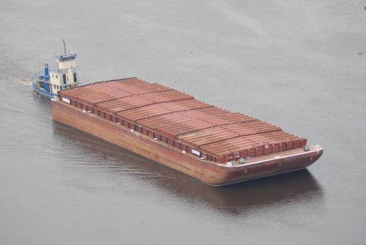 Balsa macapa belem transporte fluvial de carga