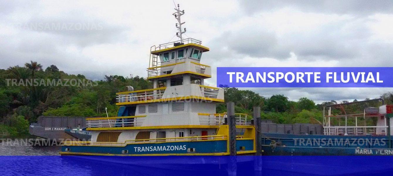 Transporte Fluvial em balsa Macapa Santarem